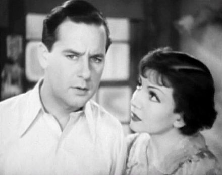 Ben Lyon and Claudette Colbert