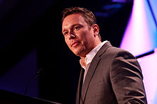 Ben Swann speaking at the 2013 Liberty Political Action Conference (LPAC) in Chantilly, Virginia.