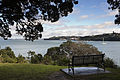 Bench overlooking the Waitemata Harbour, Auckland - 0088.jpg