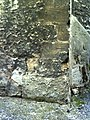 Benchmark on tower buttress of St Peter-in-the-East - geograph.org.uk - 2032706.jpg