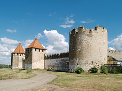 Bender Fortress. Northern side 04.JPG