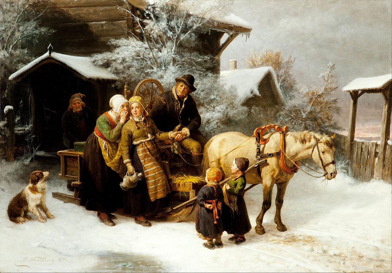 Bengt Nordenberg - Leaving Home (Dalecarlian Scene) - Google Art Project.jpg