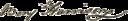 Benjamin Harrison V's signature