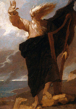 Benjamin West - The Bard - Google Art Project