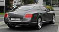 Bentley Continental GT (II) – Heckansicht (3), 30. August 2011, Düsseldorf.jpg