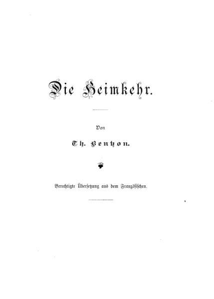 File:Bentzon Heimkehr.djvu