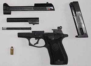 Beretta Cheetah - Image: Beretta 84F JH03