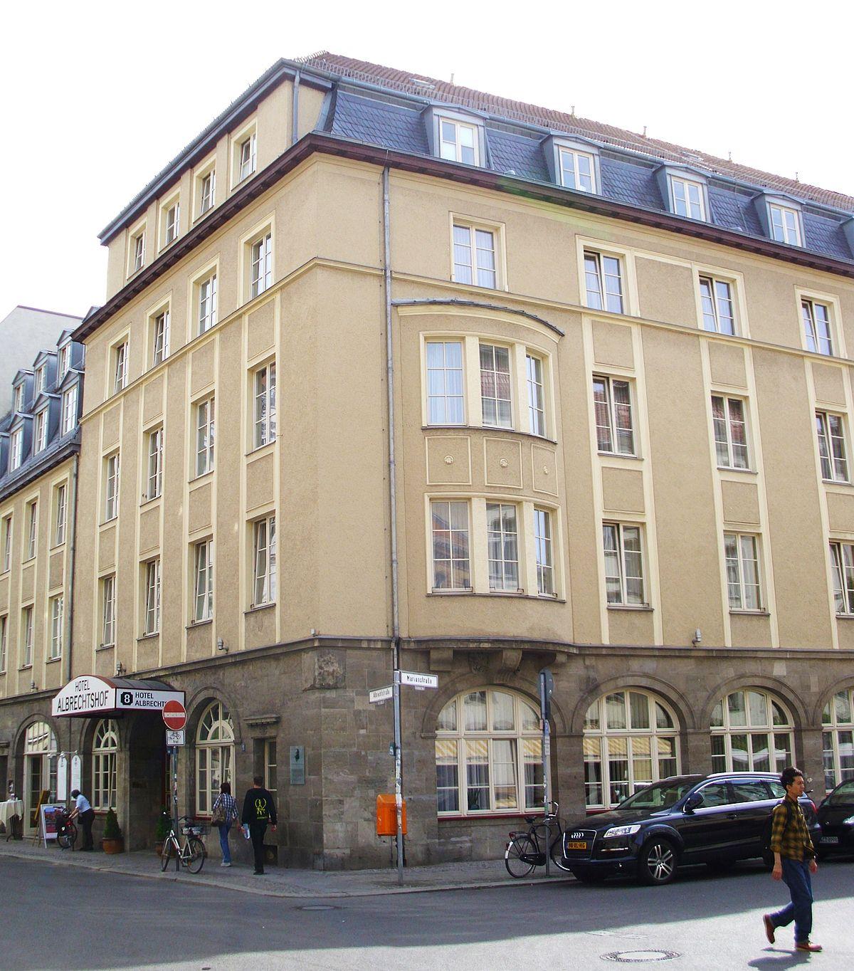 Hotel Albrechtstrabe Berlin