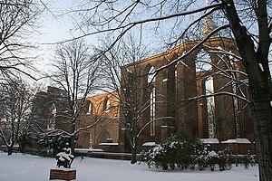 Franziskaner-Klosterkirche - The ruins in winter