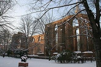 Evangelisches Gymnasium zum Grauen Kloster - Image: Berlin klosterkirche 2