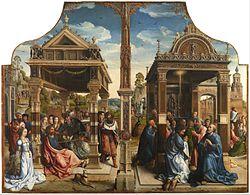 Bernard van Orley: Altarpiece of Saints Thomas and Matthias