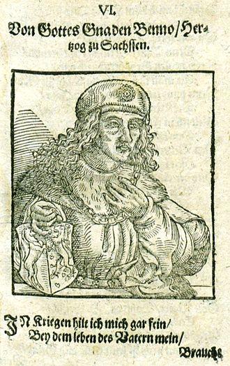 Bernard I, Duke of Saxony - Image: Bernhard I Sachsen