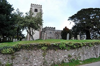 Berry Pomeroy - Image: Berry Pomeroy Church geograph.org.uk 1090704