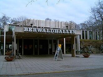 Berwaldhallen - Berwaldhallen main entrance