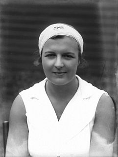 Betty Nuthall English tennis player