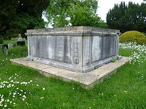 Robert Cooper Lee Bevan - The Bevan family vault at Christ Church, Cockfosters
