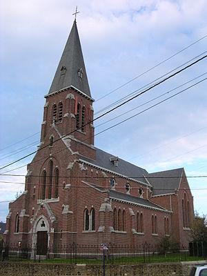 Beyne-Heusay, Kirche 1 (Ich habe 2 Kirchen in ...