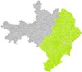 Bezouce (Gard) dans son Arrondissement.png
