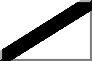 Heraklion Football Clubs Association - Image: Bianco con diagonale Nero
