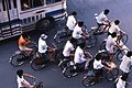 Bicyclists in China, 1987.jpg