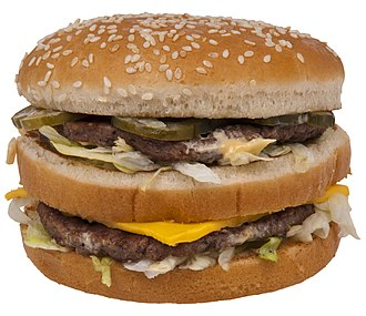 Fast food restaurant - The Big Mac hamburger made its debut in 1967