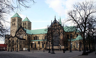 History of Münster - St. Paul's Cathedral.