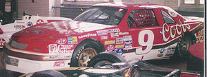 Melling Racing - Melling Racing car that set the record for the fastest recorded time in a stock car - 212.809 mph at Talladega Superspeedway