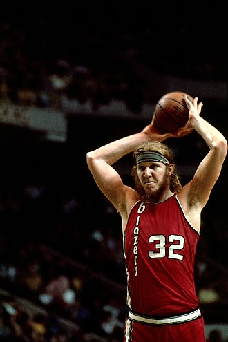 1976–77 Portland Trail Blazers season - Bill Walton was the MVP for the 1977 NBA Finals.