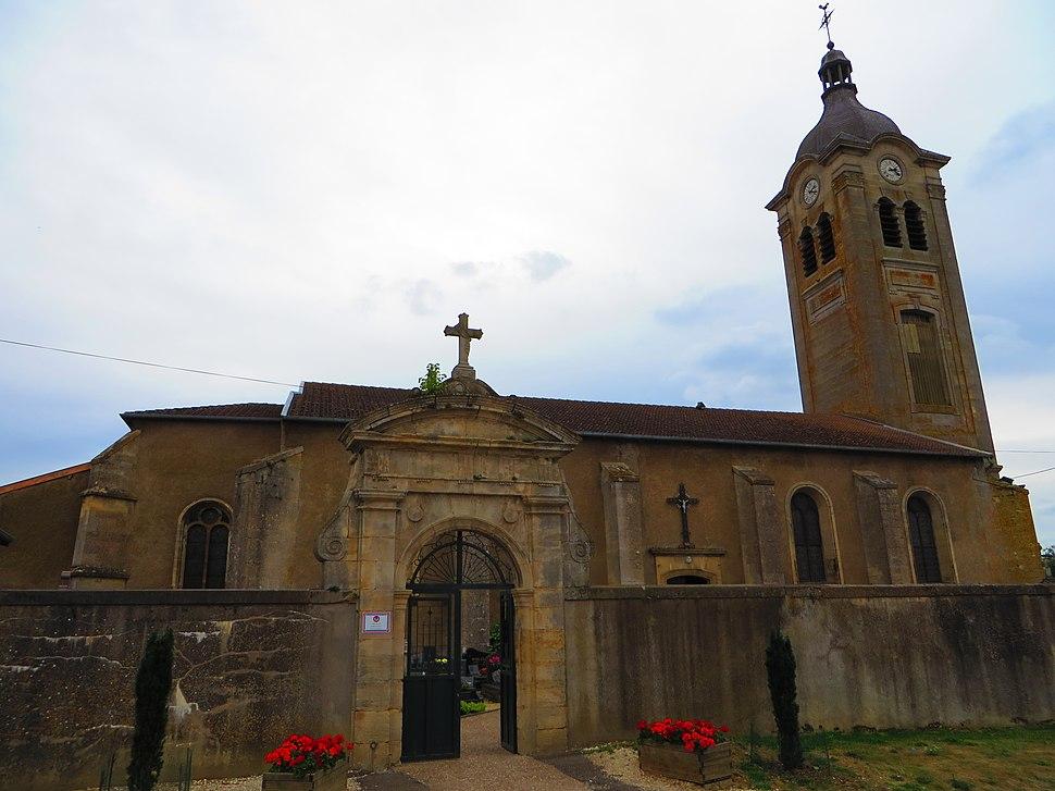 Billy-sous-Mangiennes L'église Saint-Loup