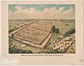 Bird's-eye view of Andersonville Prison from the south-east LCCN2003662987.jpg