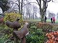 Bird carvings, Tannaghmore Gardens - geograph.org.uk - 2243518.jpg