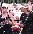 Birnerova, Bammer 2007 Australian Open womens doubles R1.jpg