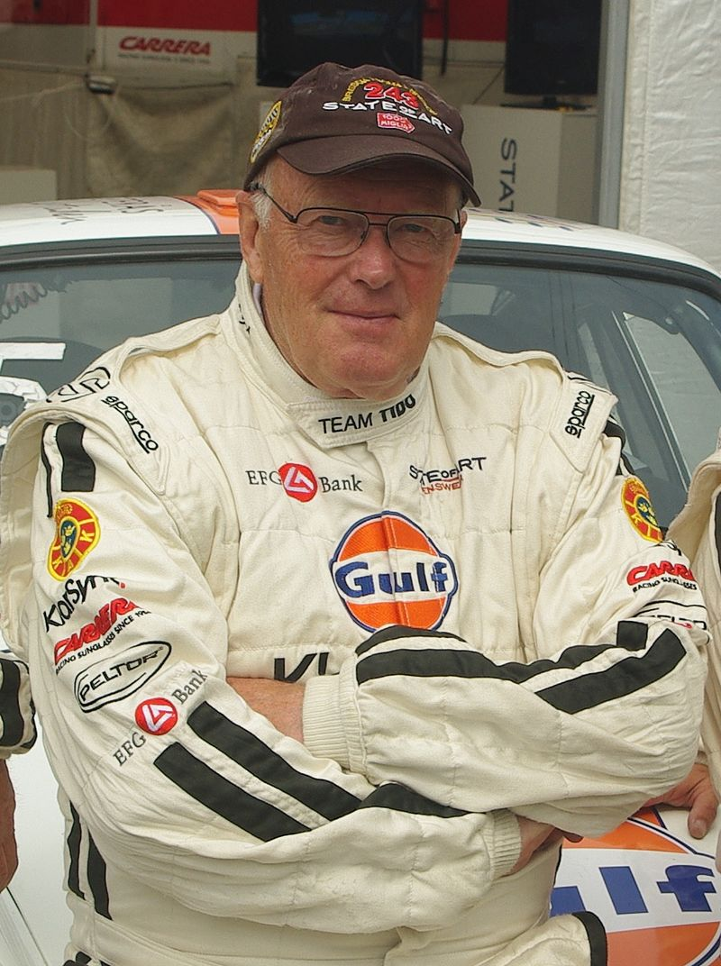 Björn Waldegård (1943-2014), at the 2011 Rally of the Midnight Sun in Sweden