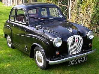 Austin A35 - Image: Black Austin A35