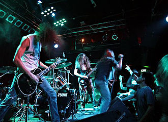 Black Breath (band) - Image: Black Breath in Seattle