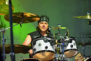 Jimmy DeGrasso American drummer