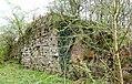 Blacksyke Lime Kilns, Caprington, East Ayrshire - end walling - north-east side.jpg