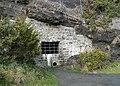 Blocked cave, Saundersfoot - geograph.org.uk - 1692039.jpg