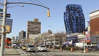 Delancey Street Street in Manhattan, New York
