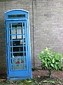 Blue telephone box - geograph.org.uk - 808749.jpg