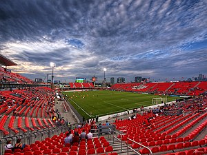 BMO Field - BMO before expansion