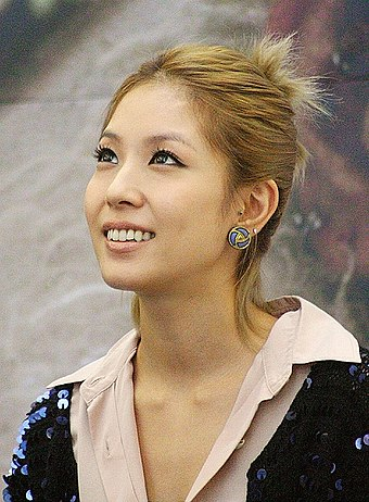 "South Korean singer BoA is known as the ""Queen of K-Pop"". BoA FanSigningEvent2010.jpg"