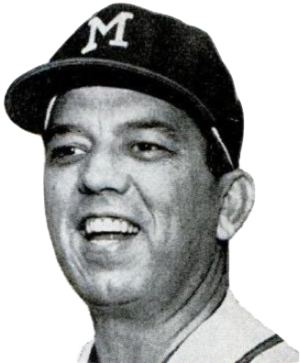 Bobby Bragan - Bragan as manager of the Braves in 1963.