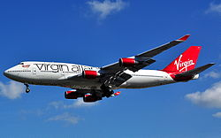 Boeing 747-400 - Virgin Atlantic Airways (G-VROC).JPG