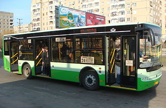 Bogdan (bus model) - Large bus Bohdan A601