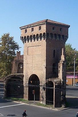 Porta San Felice, Bologna nerede, Otobüs veya Tren ile nasıl ...