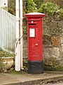 Bonchurch, postbox No. PO38 233, Bonchurch Village Road - geograph.org.uk - 1567521.jpg