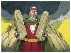 Sabbath - Moses and the 10 Commandments, Jim Padgett