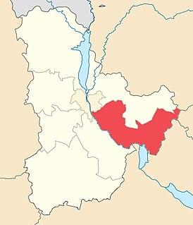 Boryspil Raion Subdivision of Kyiv Oblast, Ukraine