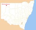 Borrrona Downs map.png
